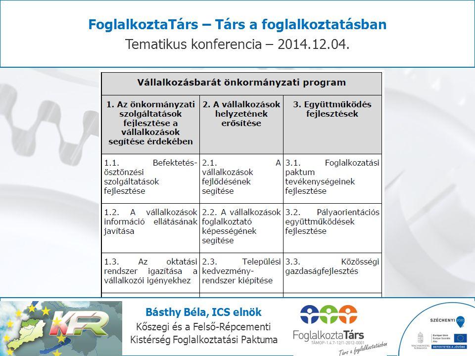 FoglalkoztaTárs – Társ a foglalkoztatásban