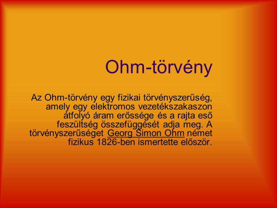 Ohm-törvény