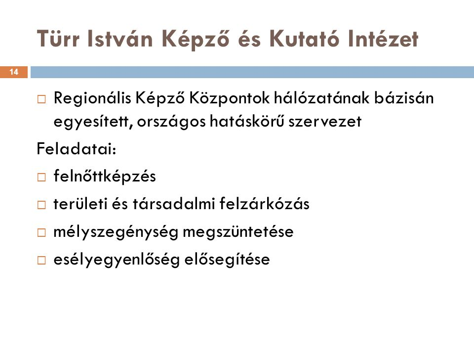 Türr István Képző és Kutató Intézet