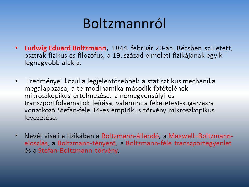 Boltzmannról