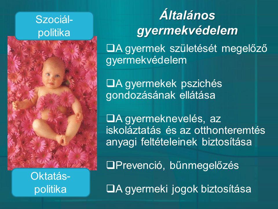 Általános gyermekvédelem
