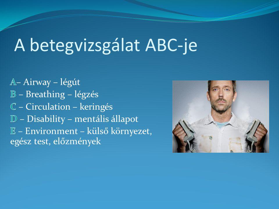 A betegvizsgálat ABC-je