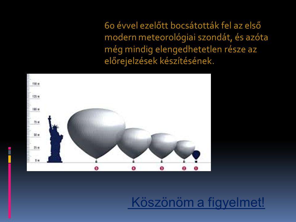 60 évvel ezelőtt bocsátották fel az első modern meteorológiai szondát, és azóta még mindig elengedhetetlen része az előrejelzések készítésének.