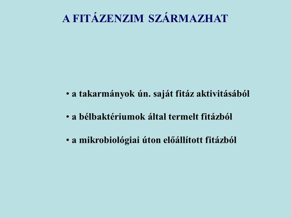A FITÁZENZIM SZÁRMAZHAT