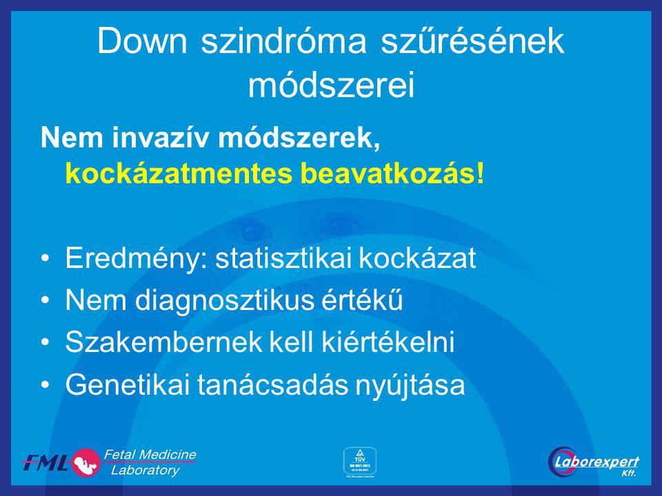 Down szindróma szűrésének módszerei