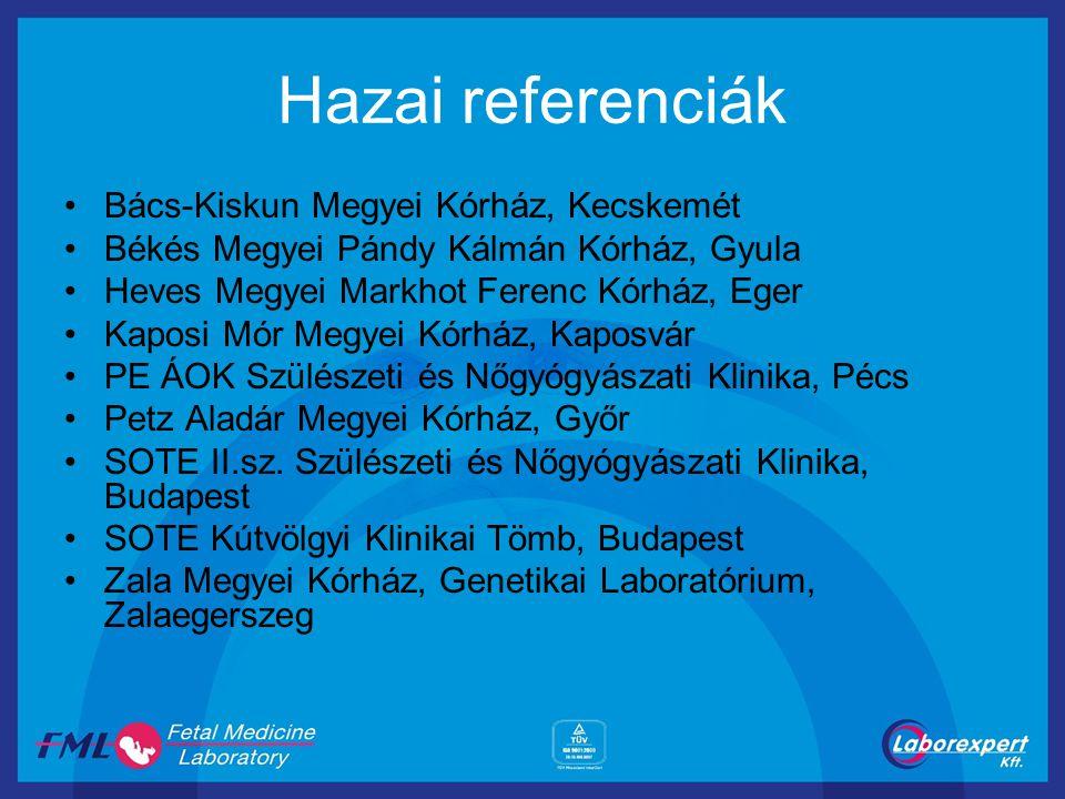 Hazai referenciák Bács-Kiskun Megyei Kórház, Kecskemét