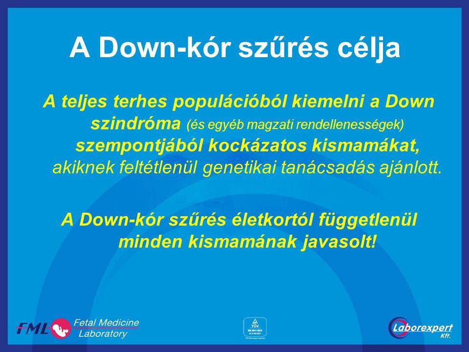 A Down-kór szűrés célja