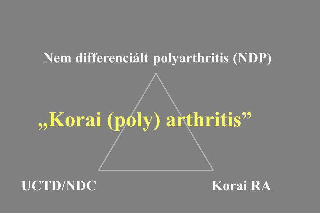 Nem differenciált polyarthritis (NDP)