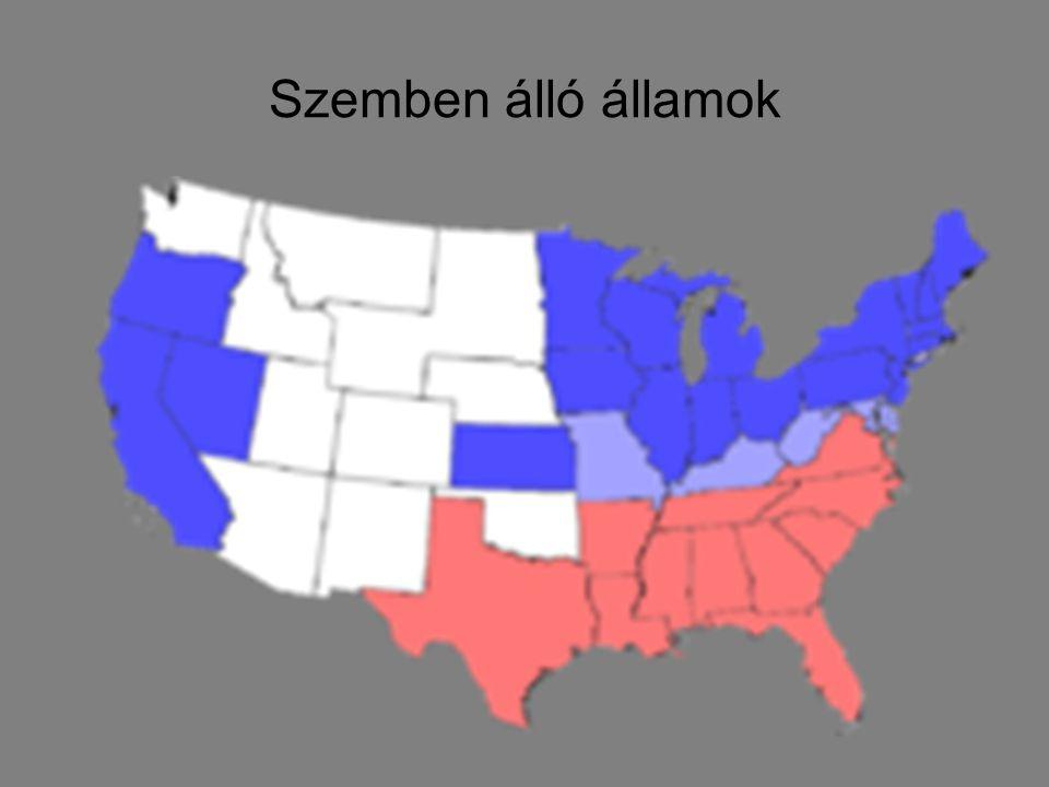 Szemben álló államok