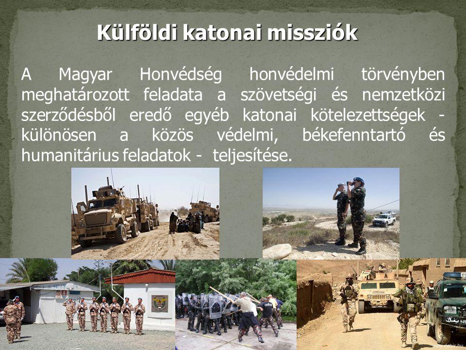 Külföldi katonai missziók