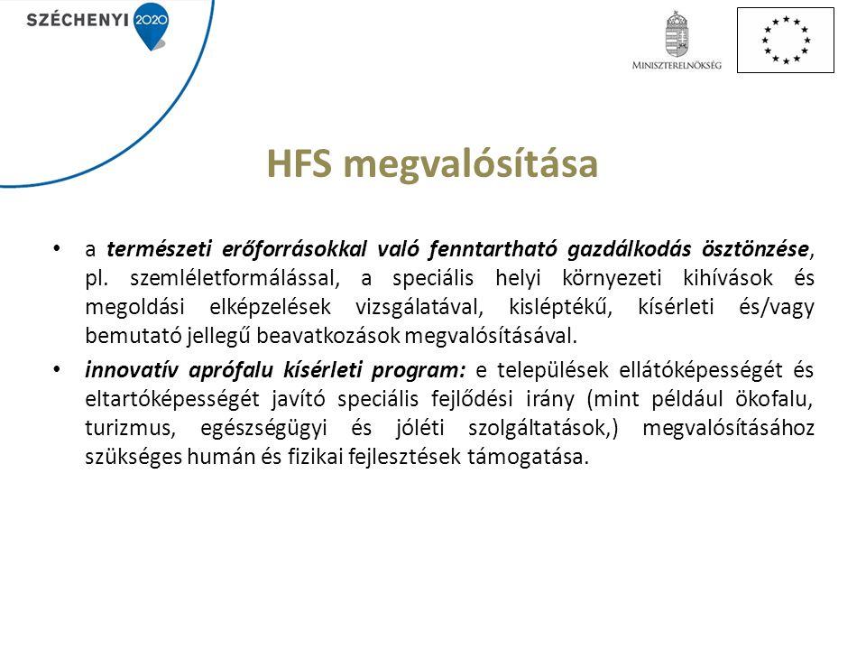 HFS megvalósítása