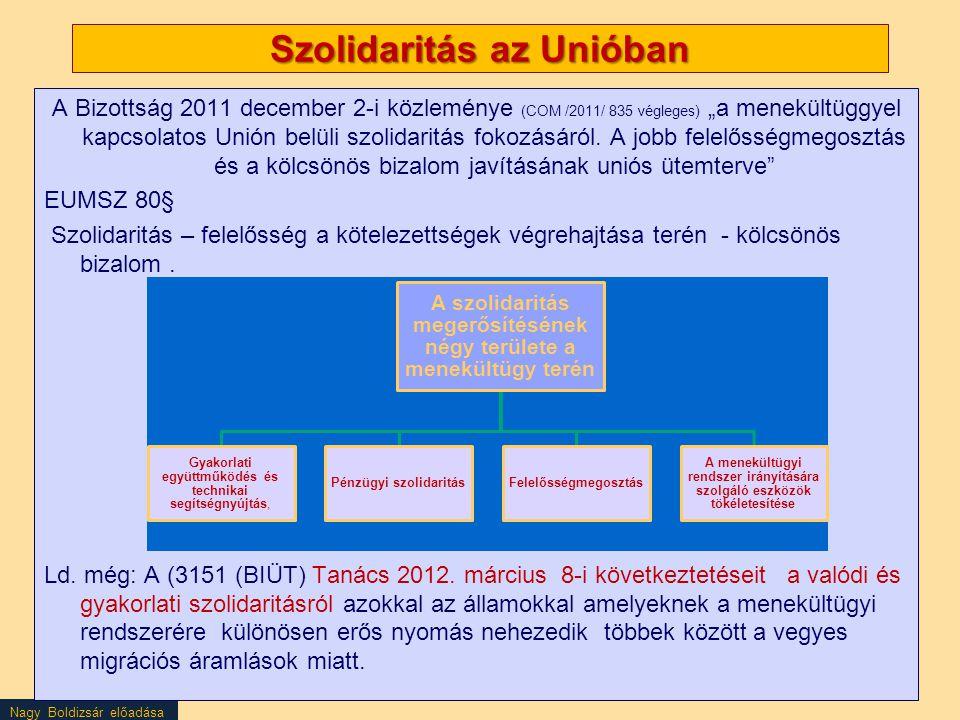 Szolidaritás az Unióban