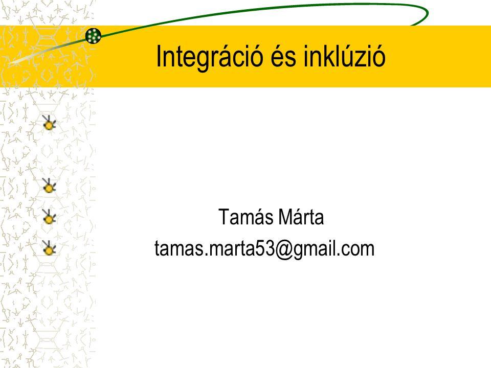 Integráció és inklúzió