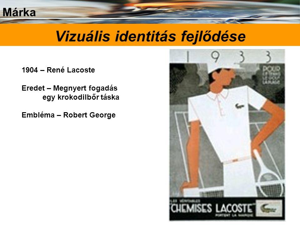 Vizuális identitás fejlődése