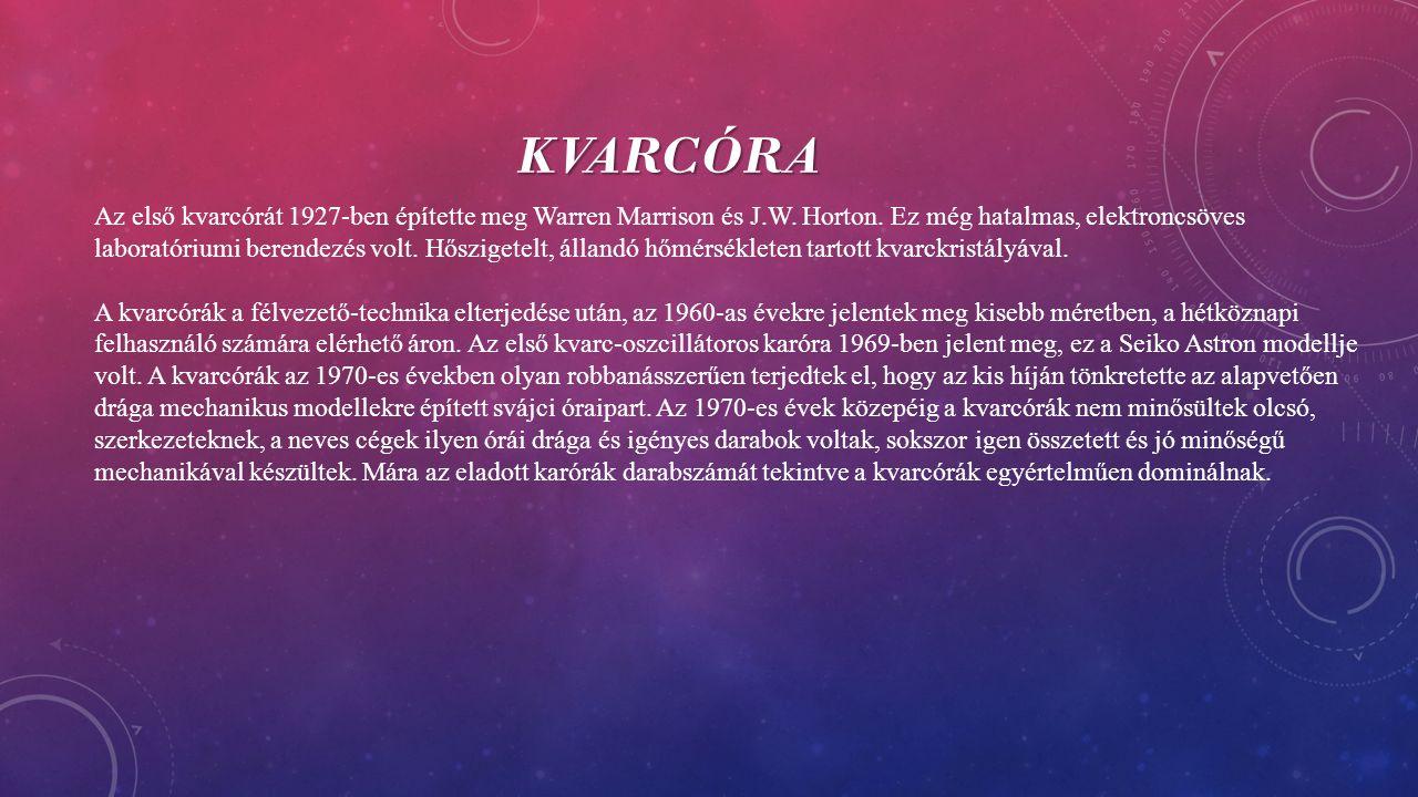Kvarcóra