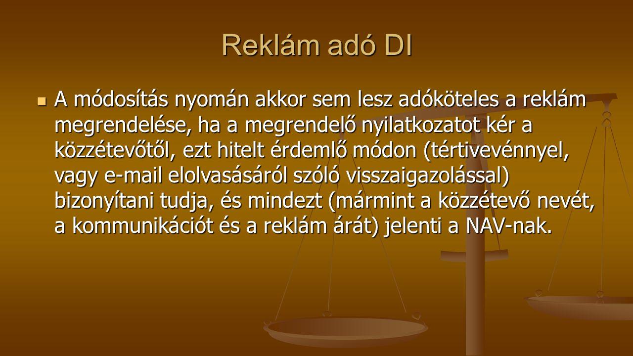Reklám adó DI