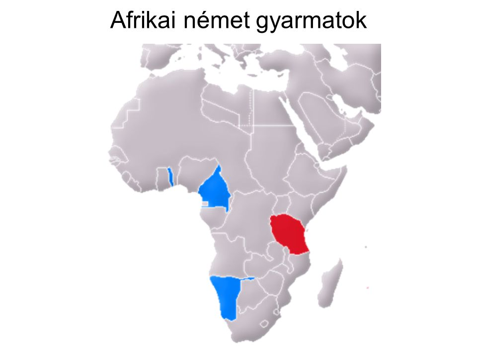 Afrikai német gyarmatok
