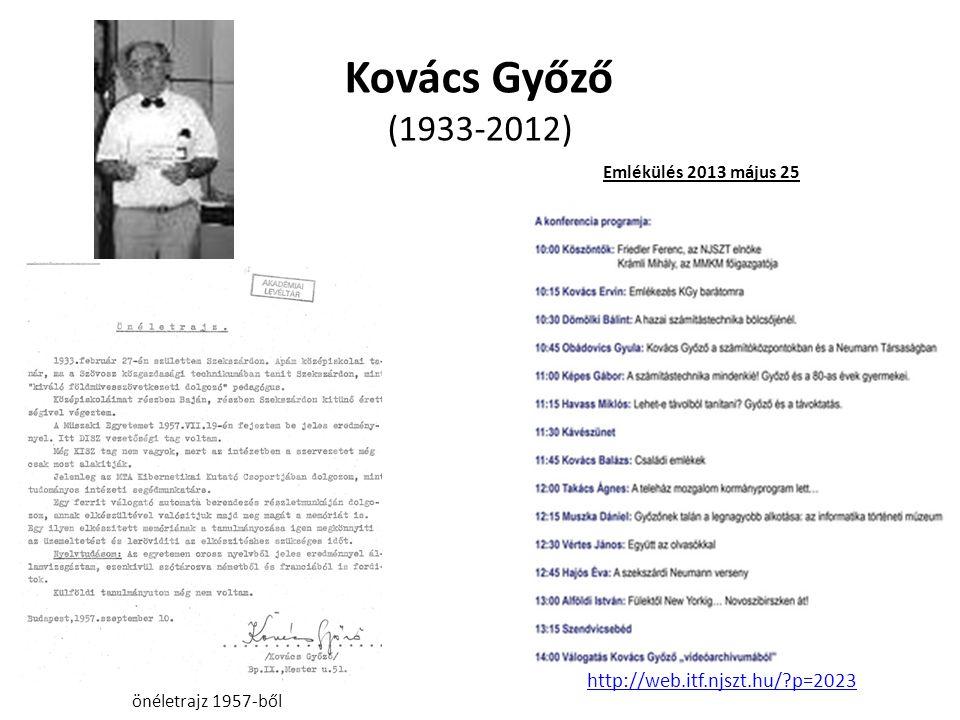 Kovács Győző (1933-2012) http://web.itf.njszt.hu/ p=2023