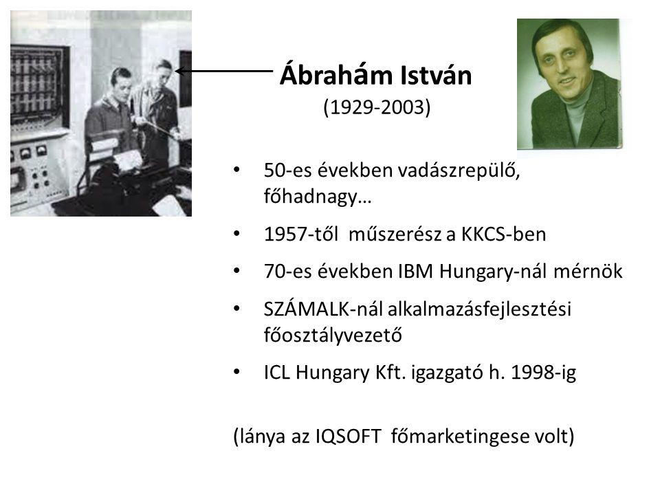 Ábrahám István (1929-2003) 50-es években vadászrepülő, főhadnagy…