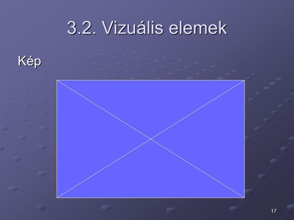 3.2. Vizuális elemek Kép