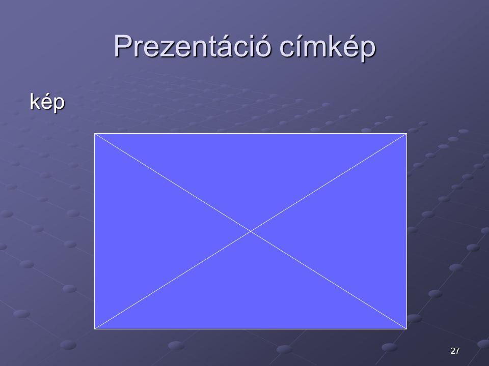 Prezentáció címkép kép