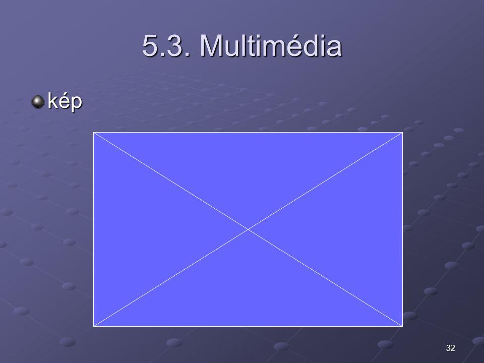 5.3. Multimédia kép
