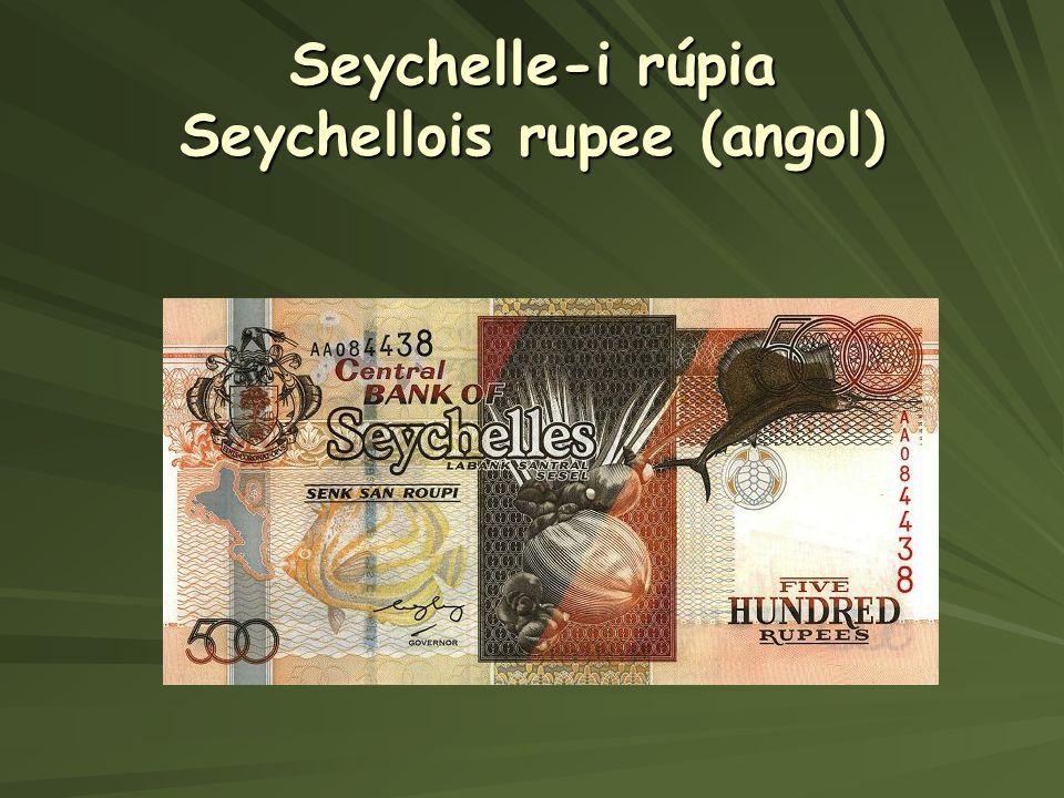 Seychelle-i rúpia Seychellois rupee (angol)