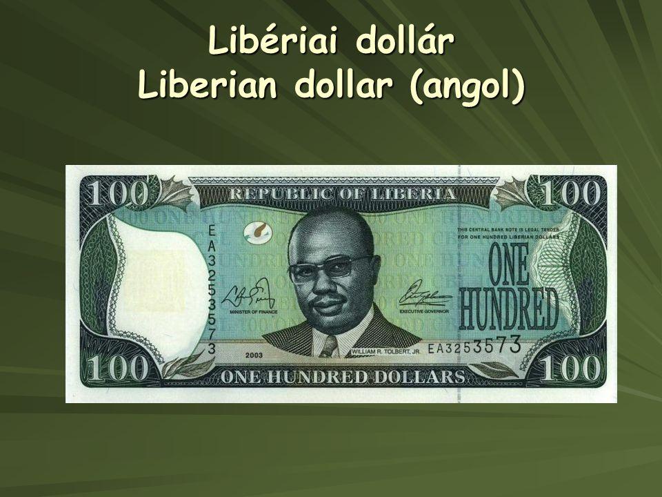 Libériai dollár Liberian dollar (angol)