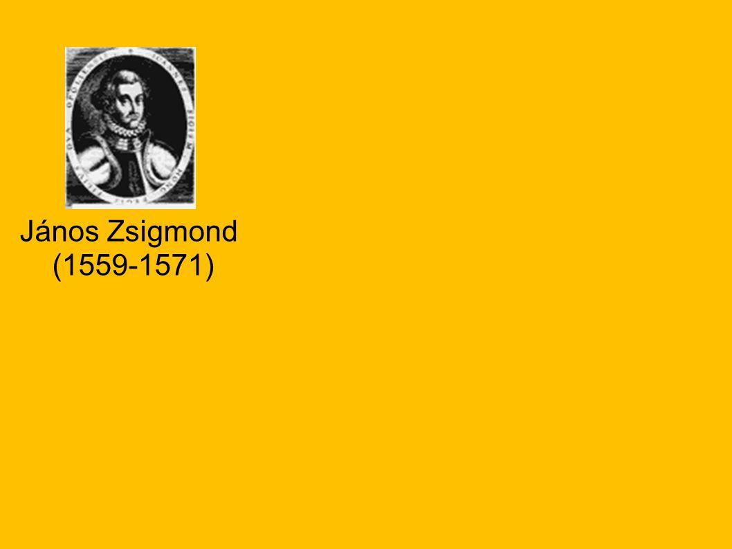 János Zsigmond (1559-1571)