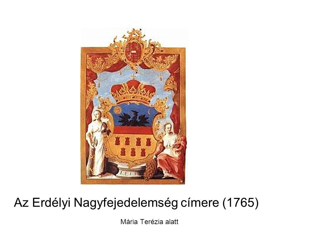 Az Erdélyi Nagyfejedelemség címere (1765)