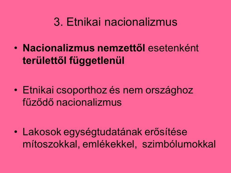 3. Etnikai nacionalizmus