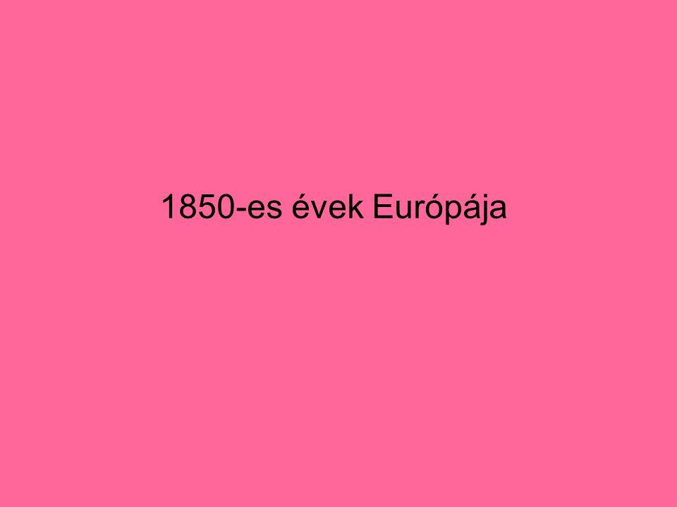 1850-es évek Európája