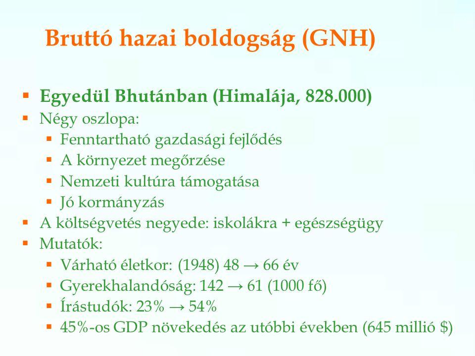 Bruttó hazai boldogság (GNH)