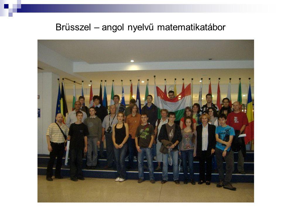Brüsszel – angol nyelvű matematikatábor