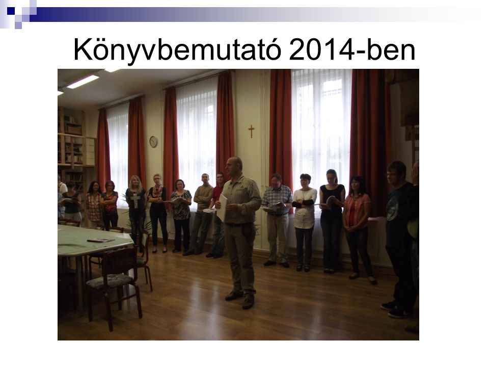 Könyvbemutató 2014-ben