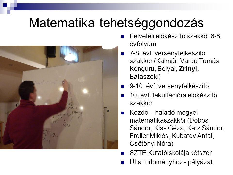 Matematika tehetséggondozás