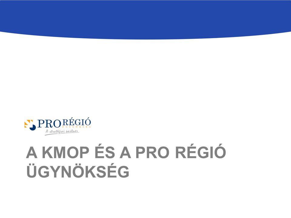 A KMOP és a Pro Régió ügynökség