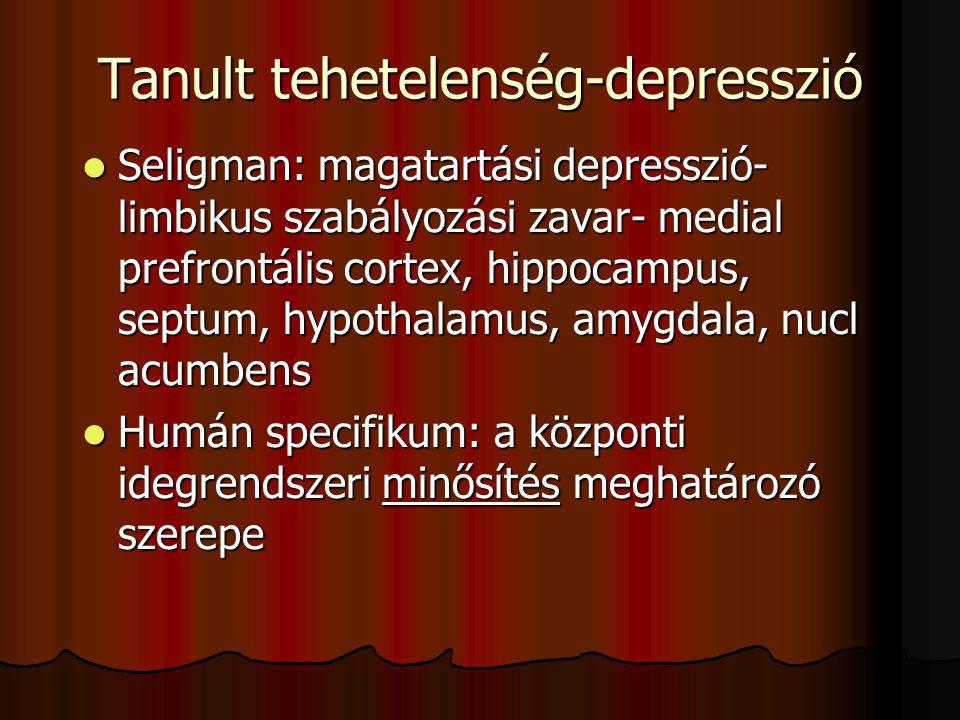 Tanult tehetelenség-depresszió