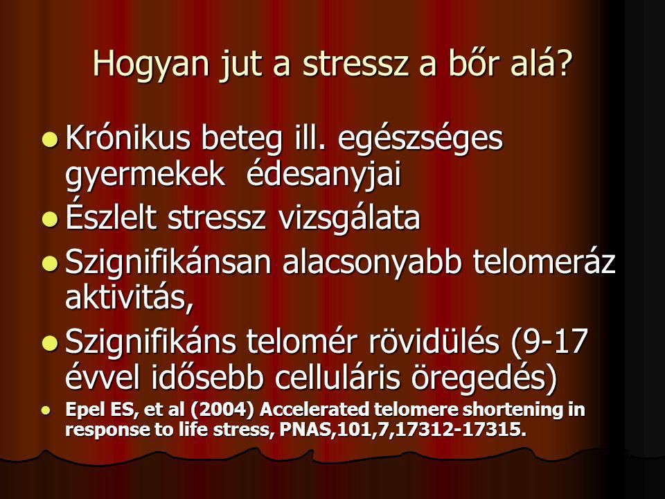 Hogyan jut a stressz a bőr alá