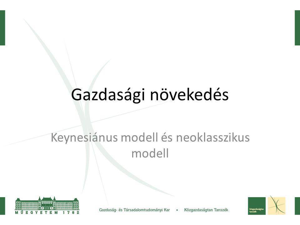 Keynesiánus modell és neoklasszikus modell