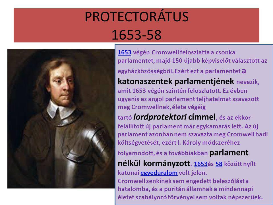 PROTECTORÁTUS 1653-58