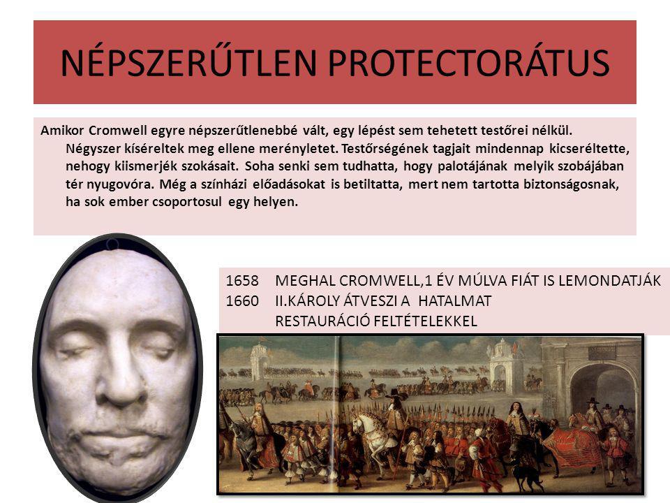 NÉPSZERŰTLEN PROTECTORÁTUS