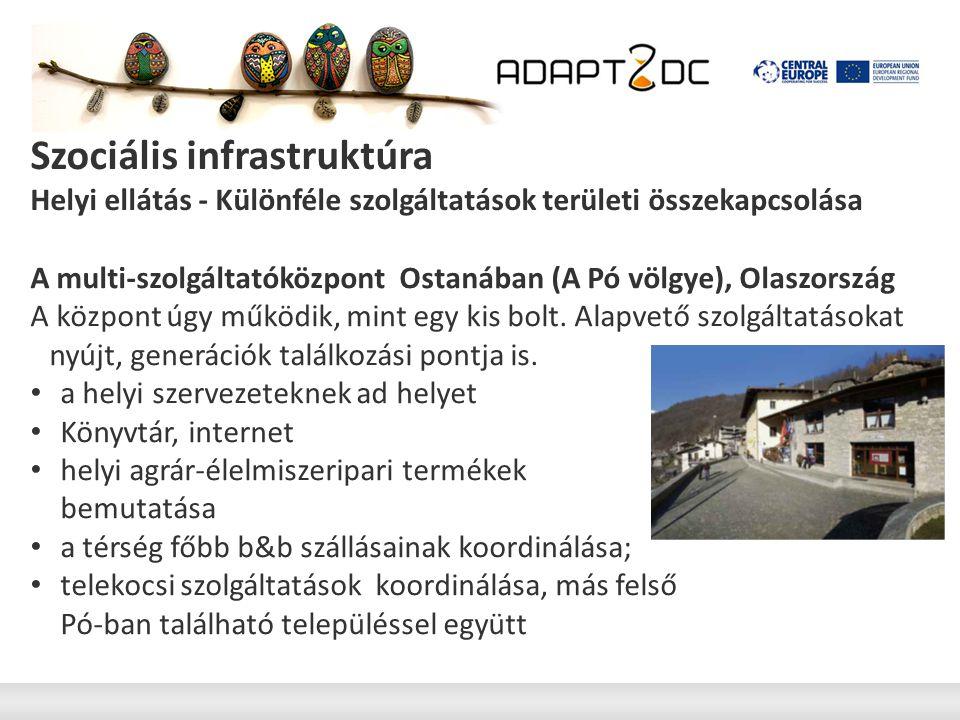 Szociális infrastruktúra