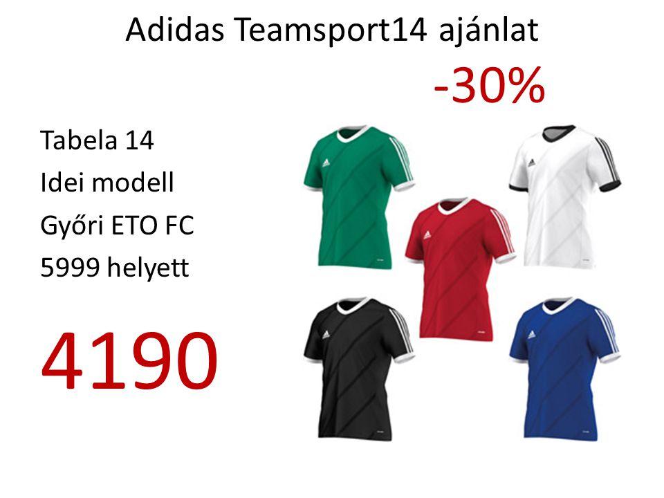 Adidas Teamsport14 ajánlat -30%