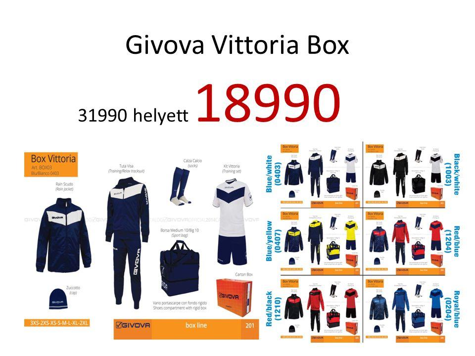 Givova Vittoria Box 31990 helyett 18990