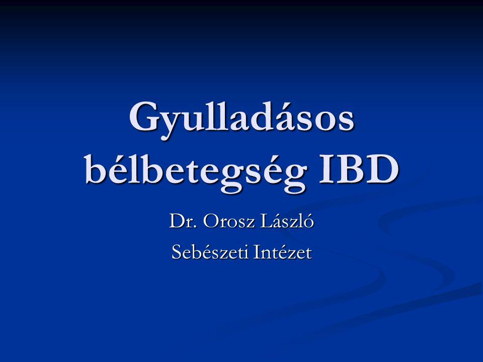 Gyulladásos bélbetegség IBD