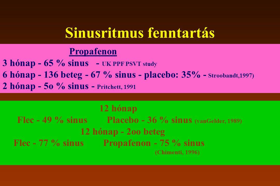 Sinusritmus fenntartás