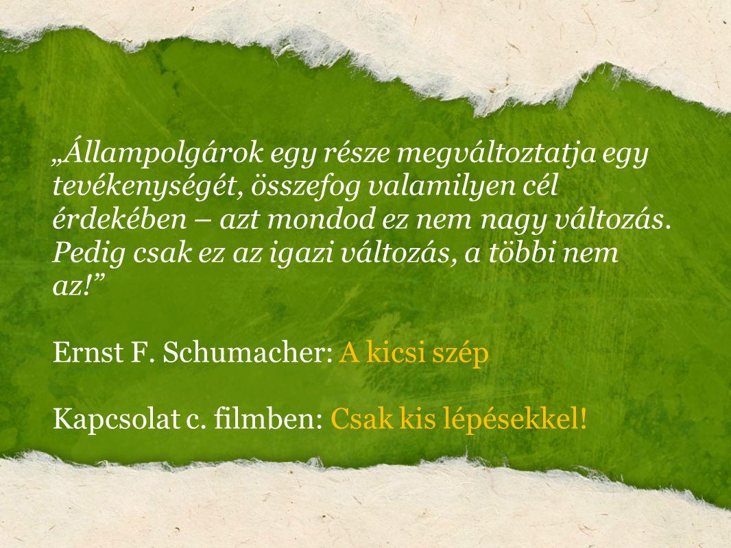 Ernst F. Schumacher: A kicsi szép