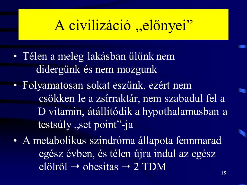 """A civilizáció """"előnyei"""
