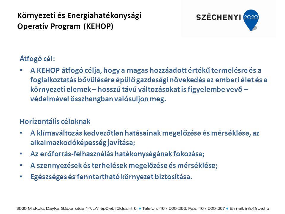 Környezeti és Energiahatékonysági Operatív Program (KEHOP)